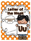 Letter of the Week: U {Distance Learning}