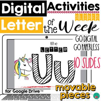 Letter of the Week U DIGITAL