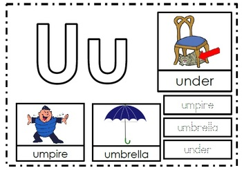 Letter of the Week - Uu