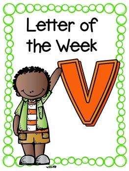 Letter of the Week- V
