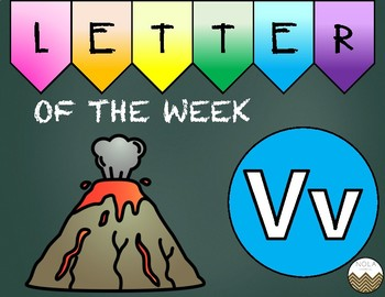 Letter of the Week -V- Activity Pack