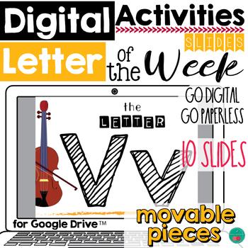 Letter of the Week V DIGITAL