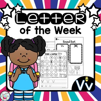 Letter of the Week -Vv