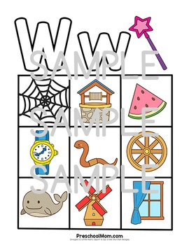 Letter of the Week: W