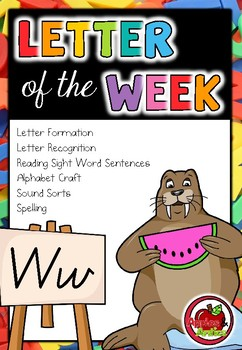 Letter of the Week - W
