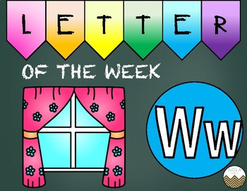 Letter of the Week -W- Activity Pack