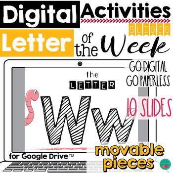 Letter of the Week W DIGITAL