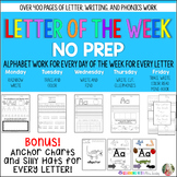 Letter of the Week - Work for a week for every letter in t