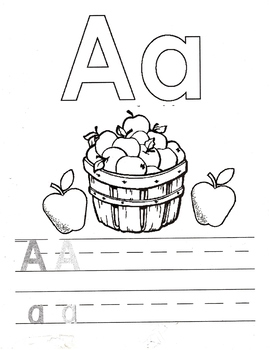 Letter of the Week Writing and Coloring Pages