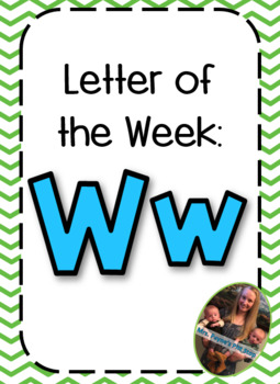 Letter of the Week: Ww