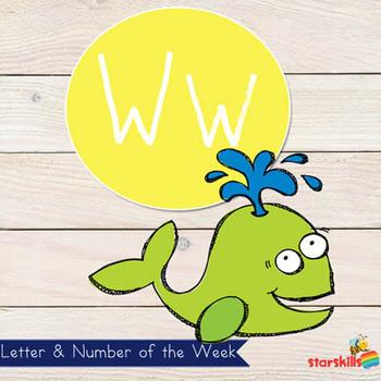 Letter of the Week Ww Workbook