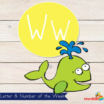 Letter of the Week Ww Workbook