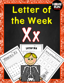 Letter of the Week X