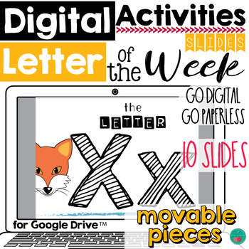 Letter of the Week X DIGITAL