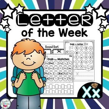 Alphabet Letter of the Week - Xx