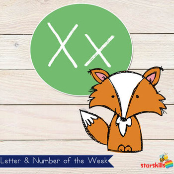 Letter of the Week Xx Workbook