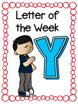 Letter of the Week- Y