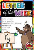 Letter of the Week - Y