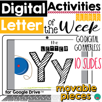 Letter of the Week Y DIGITAL