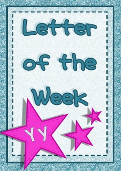 Letter of the Week - Yy