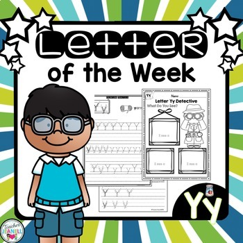 Alphabet Letter of the Week - Yy
