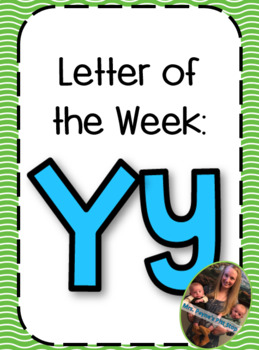 Letter of the Week: Yy