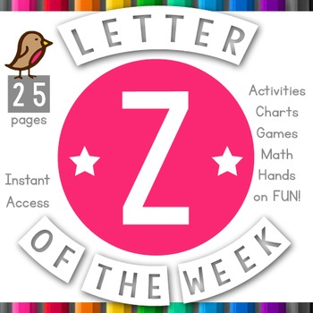 Letter of the Week: Z