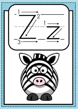 Alphabet Activities Letter Zz