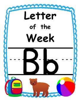 Letter of the week Bb