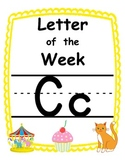 Letter of the week Cc