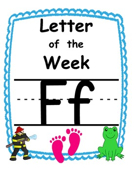 Letter of the week Ff