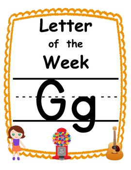 Letter of the week Gg