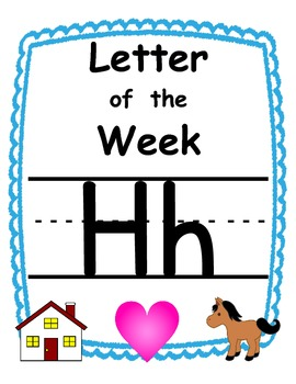 Letter of the week Hh