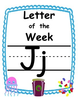 Letter of the week Jj