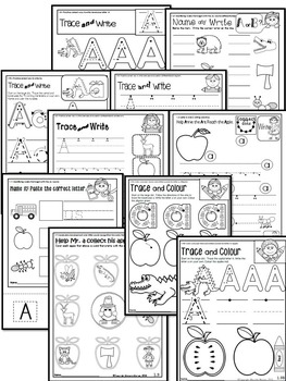 Letter of the week-LETTER A Activity PACK-letter recognition & identification_UK