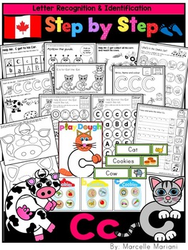 Letter of the week-LETTER C Activity PACK- letter recognition &identification-UK