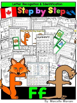 Letter of the week-LETTER F Activity PACK- letter recognition &identification-UK