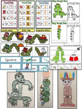 Letter of the week-LETTER I Activity PACK- letter recognition &identification-US