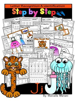 Letter of the week-LETTER J Activity PACK- letter recognition &identification-US