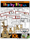 Letter of the week-LETTER K Activity PACK-letter recognition & identification-US