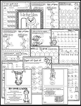 Letter of the week-LETTER L Activity PACK-letter recognition & identification-US