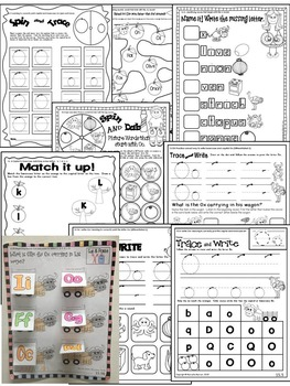 Letter of the week-LETTER O Activity PACK-letter recognition & identification-UK