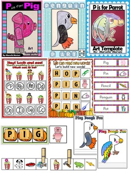 Letter of the week-LETTER P Activity PACK-letter recognition & identification-UK