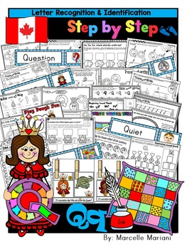 Letter of the week-LETTER Q Activity PACK-letter recognition & identification-UK