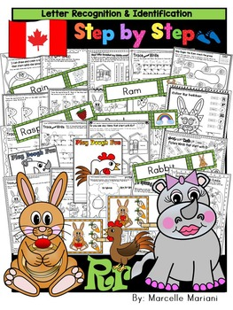 Letter of the week-LETTER R Activity PACK-letter recognition & identification-UK