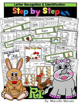 Letter of the week-LETTER R Activity PACK-letter recognition & identification-US