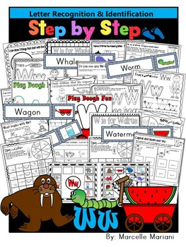 Letter of the week-LETTER W Activity PACK-letter recogniti