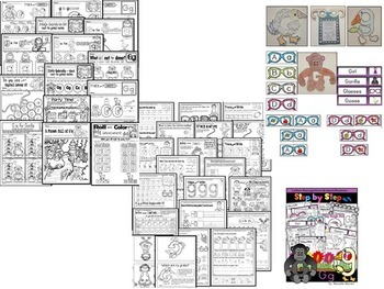 Letter of the week-LETTERS E, F, G, H ACTIVITY PACKS-BUNDLE 2
