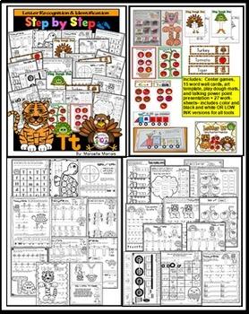 ALPHABET WORKSHEETS MEGA PACK BUNDLE 5-LETTERS Q, R, S, T ACTIVITY PACKS