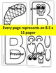 Letter of the week-Letter B Art Activity Templates- B is f